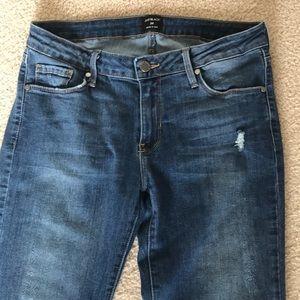 Just black brand skinny crop jean